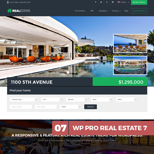 Real-Estate-wp-theme