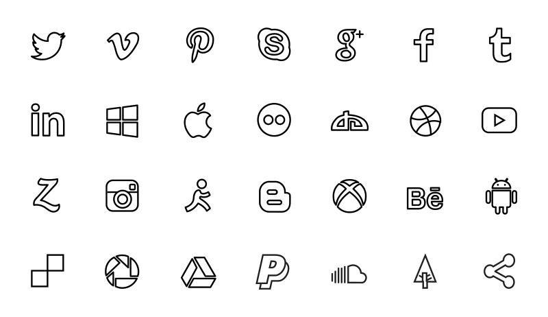 social-media-free-vector-icon-set-06